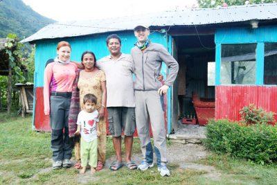 """""""My family is everything"""" sau despre cum un nepalez, la limita sărăciei, era un fericit"""