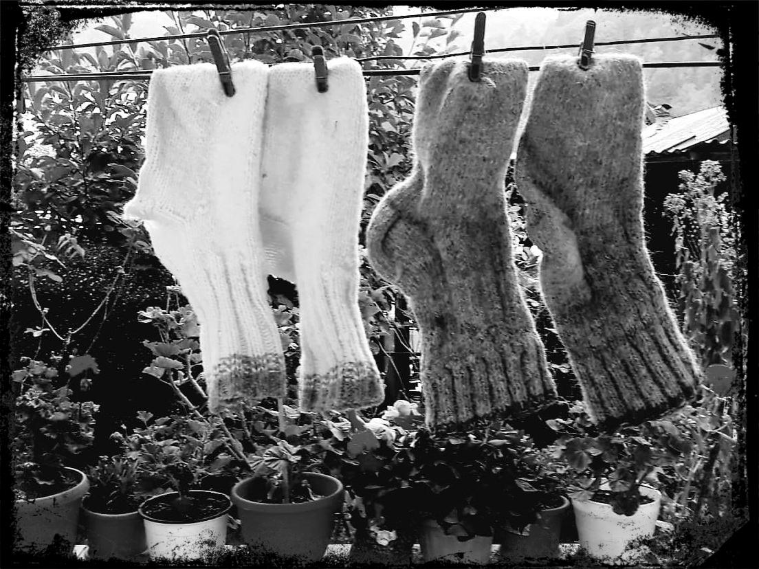 Mamaia mea şi ciorapii de lână