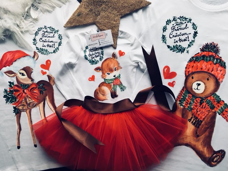 Matching Outfits: Ţinute asortate de Crăciun pentru întreaga familie