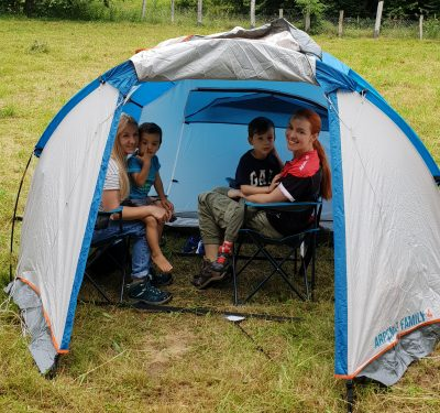 Am fost prima oară cu copilul cu cortul. Sfaturi şi poze