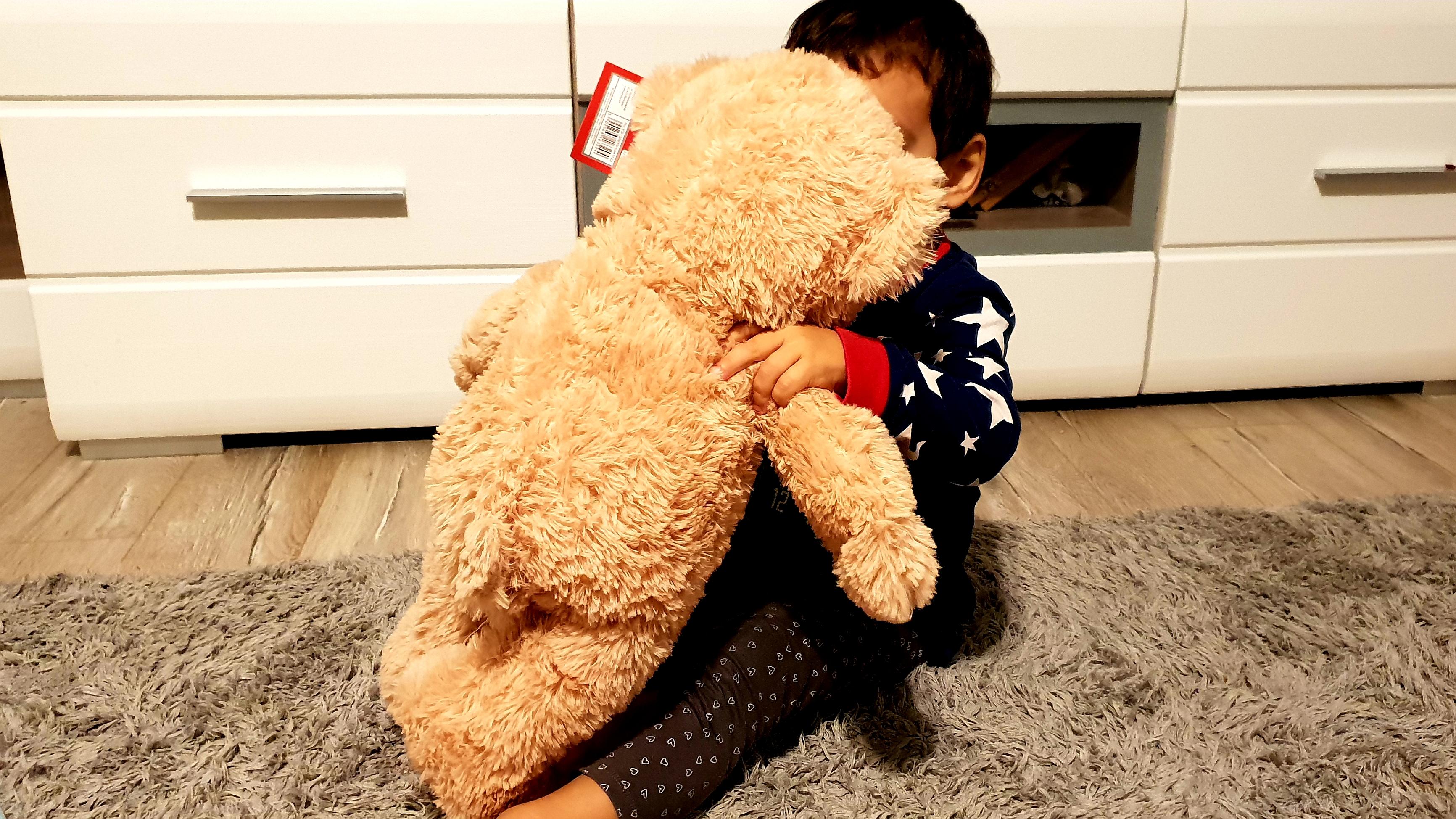 Jucăria de pluş nu ţine locul părinţilor, dar alină dorul copiilor de ei (P)