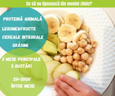 Să nu forţăm copiii să mănânce tot din farfurie! Ce alimente nu ar trebui să lipsească (p)