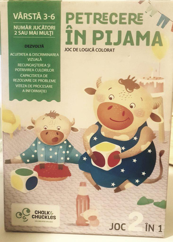 "Joc ""Petrecere în pijama"""